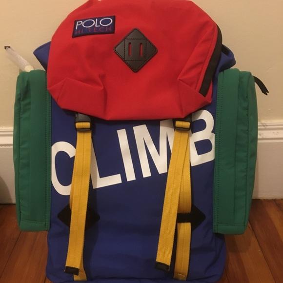 11d68df81f Polo Hi Tech Climb backpack P-93